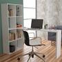 Mesa Para Computador Com Estante Be 38   Brv Móveis