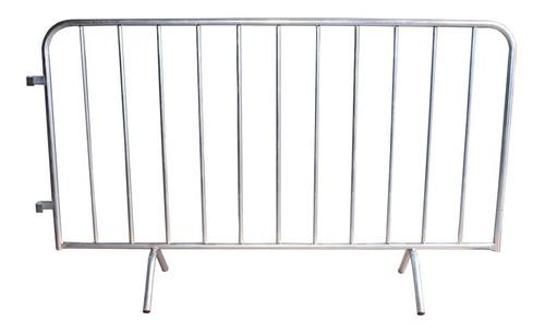 Grade De Contenção Gradil Eventos Barricada Show Aço- Stfer