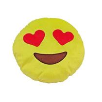 Almofada De Pelúcia Emoji Coração Te Amo Apaixonado Eu Gamei