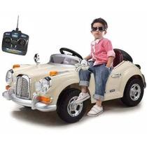 Carrinho Elétrico Retrô Infantil 6v C/ Controle Belfix