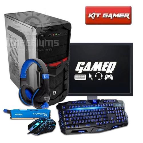 Pc Completo Gamer Intel G3930 + Kit Gamer Frete Gratis!