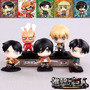 Kit 5 Figures - Shingeki No Kyojin - Attack On Titan - Anime