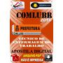 Apostila Digital Comlurb Rj Tecnico Enfermagem Trabalho 2016