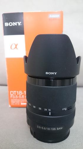 Lente Sony Modelo Sal18135 18 135mm F3.5 5.6