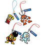 Chaveiro Mega Man Dot Strap Personagem + Tag