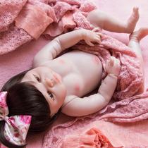 Pronta Entrega | Boneca Bebê Reborn Toda Silicone + Enxoval