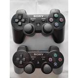 Kit Controle De Ps3  Dualshock Sony Sixaxis  2 Unidades