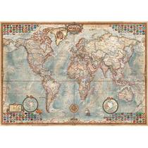 Puzzle 4000 Peças Mapa Mundial Histórico - Importado Grow