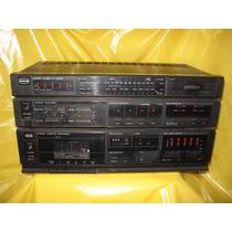Receiver E Tape Deck Cce Sr-250 E Cd-250 Precisa De Reparos.