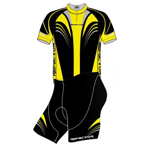 Conjunto Ciclismo Competition Cj900 - Refactor - Amarela - P