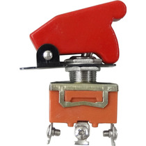 30 Chave Botão Caça Vermelho P/ Som Turbo Strobo Neon Tuning