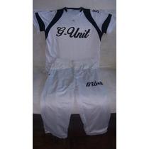 G-unit - Conjunto De Calça E Camiseta De Poliéster