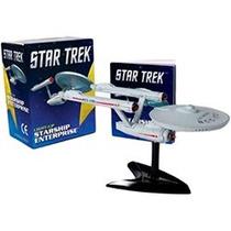 Kit Star Trek Miniatura Enterprise Jornada Nas Estrelas Nave