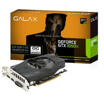 Placa De Vídeo Galax Geforce® Gtx 1050 Ti 4gb Oc Ddr5 128