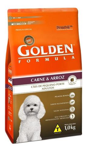 Ração Golden Formula Premium Especial Cachorro Adulto Raça Pequena Carne/arroz 1kg