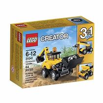 Brinquedo Lego Creator 3 Em 1 Veiculos De Construção 31041