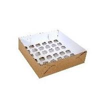 Caixa Transporte 36 Mini Cupcakes - Pct C/ 10 Un
