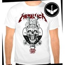 Camiseta Metallica Baby Look Regata Metal Rock Banda Camisa