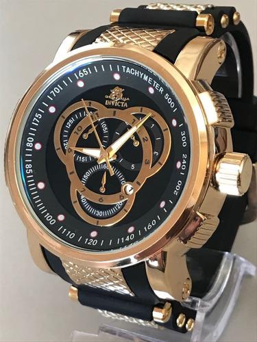 d0430698adb Relógio Masculino Dourado Prata Barato Aço Pesado + Brinde!!