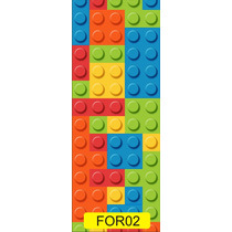 Adesivo Porta Adesivo Para Porta Quarto Sala Lego For02
