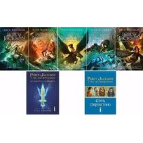 Kit Percy Jackson E Os Olimpianos - 7 Livros - Frete Grátis