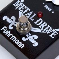 Metal Drive: Pedal De Distorção P/ Guitarra Fuhrmann