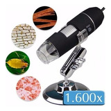 Microscópio Digital Usb Zoom 1600x Camera 2.0mp Profissional