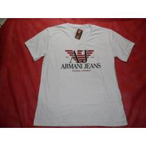Camiseta Armani Exchance Branca G Lances A Partir R$ 1,