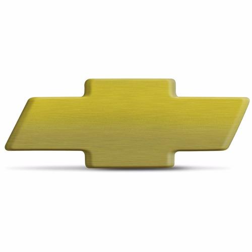 Emblema Chevrolet Gravata Dourada 5,3x2,0cm