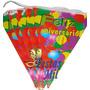 Bandeirinha Feliz Aniversário - Balões