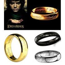 O Um Anel - Senhor Dos Anéis - Folheado A Ouro