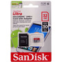 Cartão Micro Sd Sdhc 32gb Ultra Sd Sandisk Classe 10 30mb/s