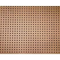 Painél Eucatex Perfurado 20cm X 20cm X 2,5mm
