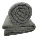 Cobertor Hazime Enxovais Do Bem Solteiro Cinza Lisa