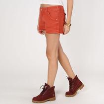 Short Jeans Feminino Pacific Color Laranja - Novo C/ Nf!!!