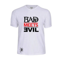 Camisas Bad Meets Evil Rap Rapper Hip Hop Eminem Camisetas