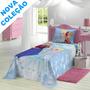 Colcha Lepper Frozen New Infantil 1.50m X 2.10m Solteiro