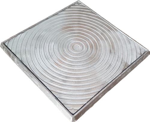 Tampa Tampão 60x60 Alumínio Fundido Gordura/esgoto/telefone