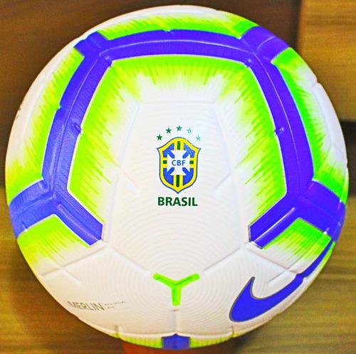 Nova Bola Nike 2019 Merlin Selo Fifa E Cbf Oficial De Jogo. R  379. 5  vendidos c23f7026de06d