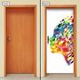 Adesivo Decorativo De Porta - Pintura - 661mlpt