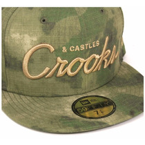 Boné Importado New Era Crooks And Castles Dgk Gold Diamond