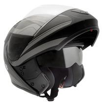 Capacete Moto Peels Urban Glory C/ Óculos Fumê Robocop Fosco