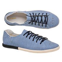 Tênis Sapatenis Osklen Handmade Azul Claro Jeans.