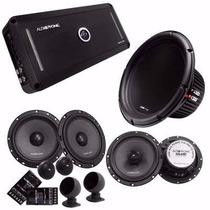 Kit Audiophonic Club 5.1dhp + Kc 6.3 + Cb 650v3 + C1-10d4