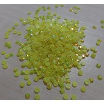 Pacote De Strass Hotfix Epoxy Yellow Ab 4mm