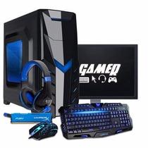 Pc Gamer I3-7100, 8gb, Gt 1030, Kit Gamer Promoção!