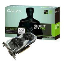Placa De Vídeo Galax Geforce® Gtx 1060 Oc 6gb Ddr5 192 Bit