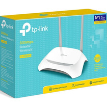 Roteador Wifi Tp-link Tl-wr849n 300mbps  C/ 2 Antenas Fixas