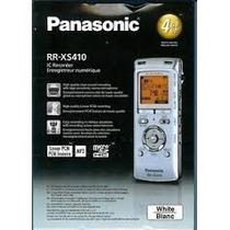 Gravador Voz Panasonic Rr-xs410 Recarregavel 4gb