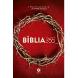 Bíblia Sagrada 365 Nova Versão Transformadora - Capa Coroa